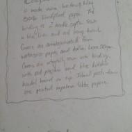 2007 Blue Kidskin Colophon