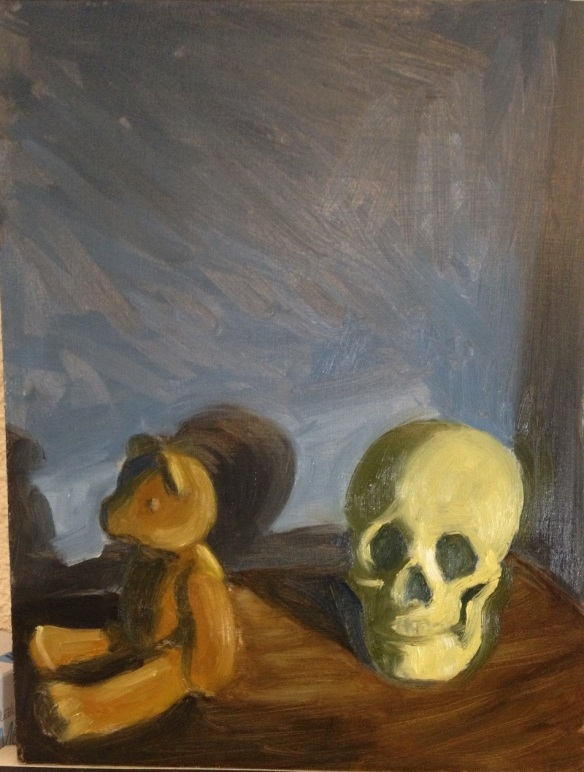 Skull and Teddy