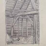 Barn Arch Drawing
