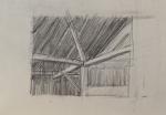 Barn Corner Drawing