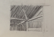 Barn Corner Drawing