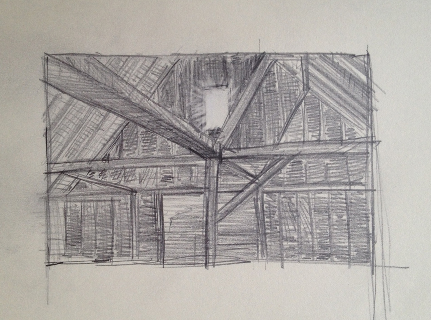 Barn Window Drawing Adam 39 S Art Work