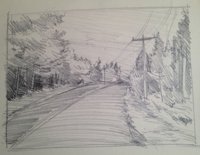 Swan's Island Sketch #1