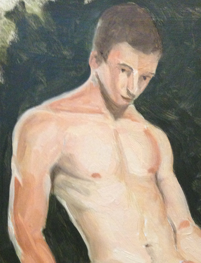 """Last attempt and the best of you ignore the face.  Oil on board 8""""x10"""""""