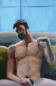 "untitled : Oil on board. 6""x9"" 2015"