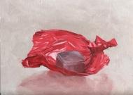 """untitled : Oil on wood. 6""""x8"""" 2016"""