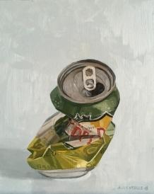 "untitled (Dream Study IV) : Oil on wood. 8""x10"" 2016"